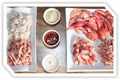 Lobster and Dips